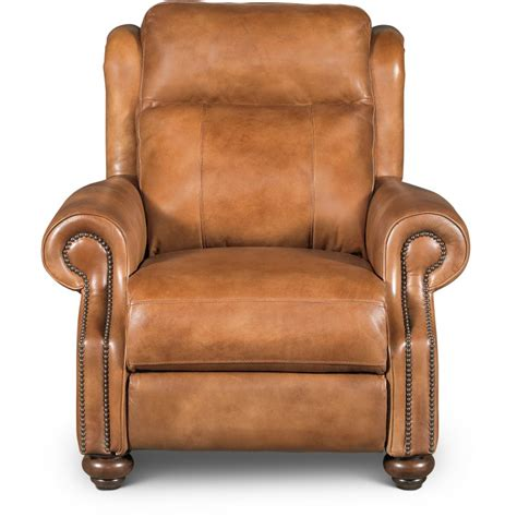 Light Leather Recliner by Whiskey Light Brown Leather Power Recliner Hancock Rc