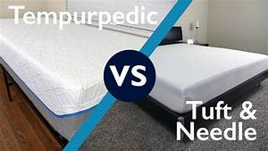 Tuft needle vs tempurpedic mattress review sleepopolis for Brooklyn bedding vs tempurpedic