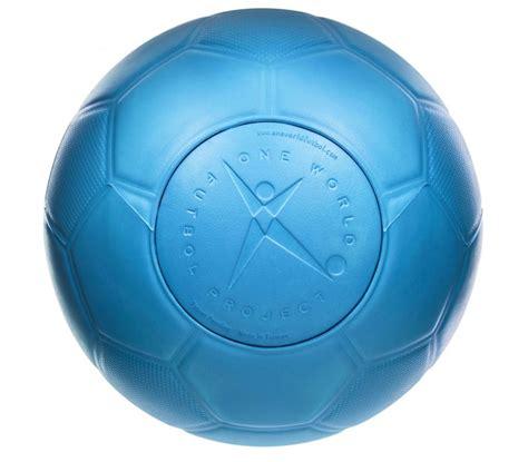 ultra durable soccer ball blue  world futbol size