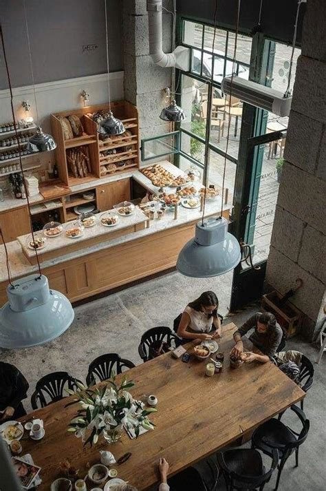 Cakes, candy, cookies, sweets, coffee. Beautiful Bakery Interior Designs To Make You Feel Peckish - Bored Art