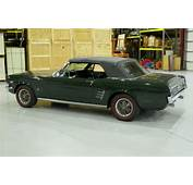 1966 Ford Mustang  GT HIGH PERFORMANCE CONVERTIBLE FACTORY