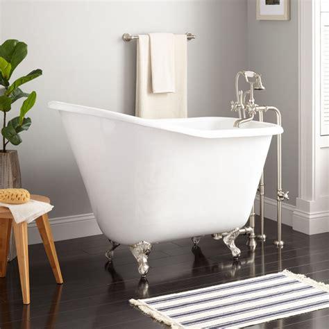 52quot wallace cast iron slipper clawfoot tub bathroom