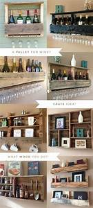 Reclaimed Pallet Shelves. Genius and beautiful! Amazing ...