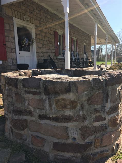 colonial root cellar transformed   wine bar stone