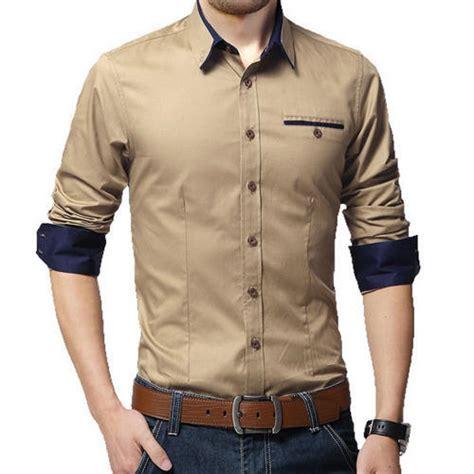 cotton plain mens casual shirts rs  piece arise