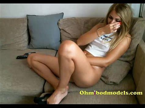 Blonde Camgirl Cums Well Using Ohmibod Xnxx Com