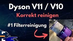 Dyson Filter Reinigen : dyson v11 v10 korrekt reinigen 1 filterreinigung youtube ~ Watch28wear.com Haus und Dekorationen