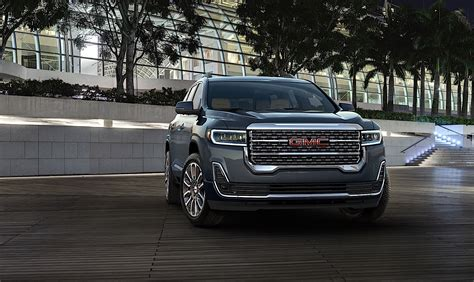 Gmc Acadia 2020 Dimensions by 2020 Gmc Acadia Redesigned Crossover Offers New Tech