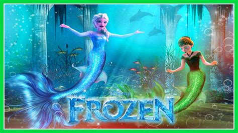 frozen mermaid princess elsa disney cute dress  game
