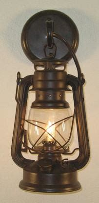 western small rustic lantern wall sconce  wild west