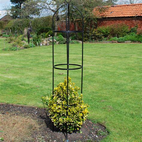 19m Garden Obelisk Support Metal Climbing Plant Flowers