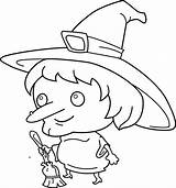Witch Coloring Clip Draw Hat Clipart Cartoon Squad Base Halloween Trio Sweetclipart Clipartix Flag Transparent Arts Library sketch template