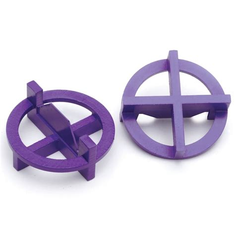 tavy tile spacers 116 shop tavy 100 pack 1 in w x 1 in l 3 32 in purple plastic