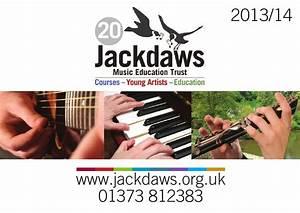 Jackdaws Brochure 2013 - 14 by Jackdaws Music Education ...
