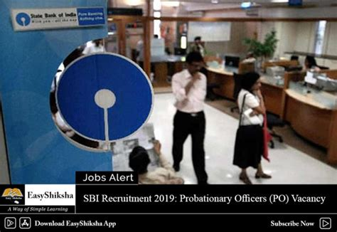sbi recruitment  po vacancy apply   date