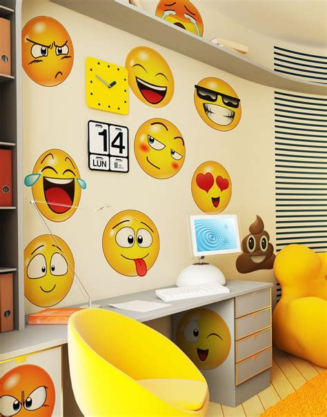 emoji wall decals emoji stickers  wall stickerbrand