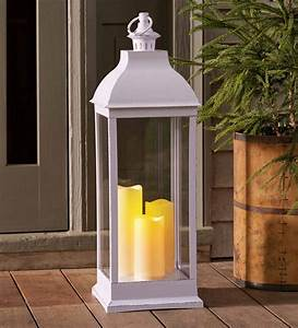 Outdoor, Lantern, With, Led, Candles