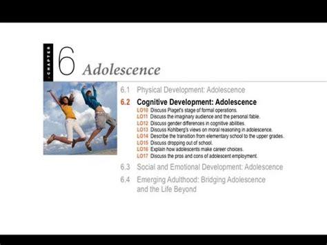 adolescence cognitive development youtube