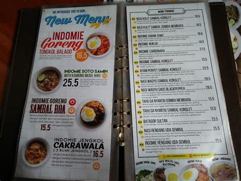daftar menu warunk upnormal semarang
