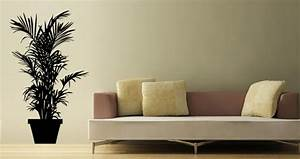 Grande Plante Verte : stickers muraux grande plante verte sticker d coration ~ Premium-room.com Idées de Décoration