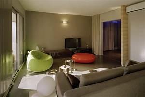 redistribution fonctionnelle dun appartement de 100 m2 With les couleurs du salon