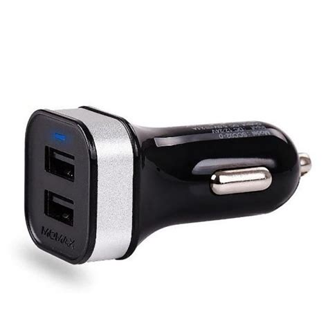 iphone 5 car charger momax xc series dual usb car charger with lightning cable