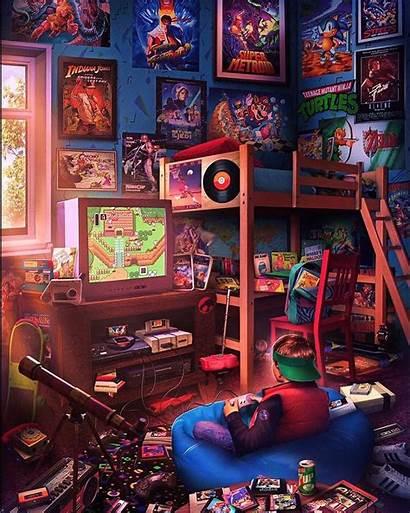 Render Playground 90s Retro 80s Gaming Newretro