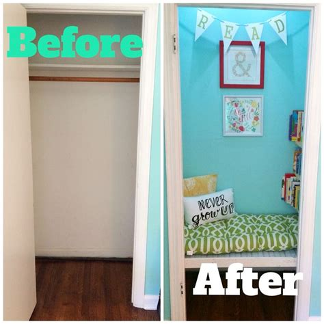 25 best ideas about closet reading nooks on