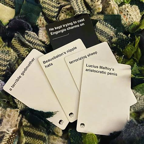 This special harry potter themed set for cards against humanity. Cards Against Muggles: All You Need To Know About - Cards Against World