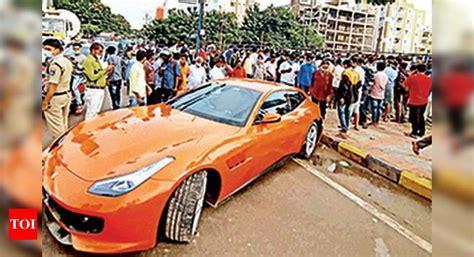 Dadaspot 3.984 views4 year ago. Ferrari Accident Hyderabad: Ferrari runs over pedestrian in Hyderabad | Hyderabad News - Times ...