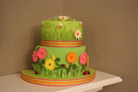 Garden Decoration Courses by 41 Best Cakes Made While Instructing Wilton Courses 1 4