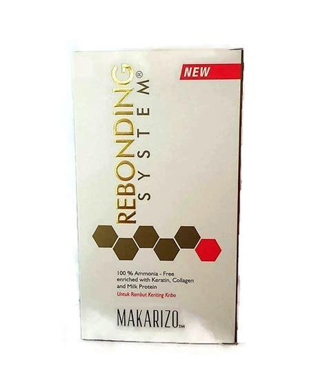 Harga Makarizo Obat Bonding jual makarizo rebonding system untuk rambut kribo di lapak