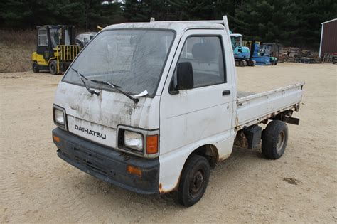 daihatsu mini truck with hydraulic dump box spencer sales