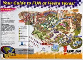 Six Flags Fiesta Texas San Antonio Map