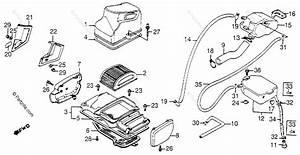 Honda Motorcycle 1984 Oem Parts Diagram For Air Cleaner