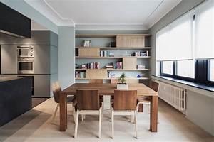 emejing amenager une grande salle a manger contemporary With grande table ovale salle a manger pour petite cuisine Équipée