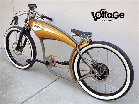 (video) Voltage Cycles, Custom Electric Chopper Bikes
