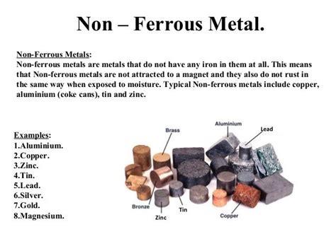 ferrous metal  ferrous metals  ferrous