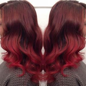 Balayage Braun Rot : red hair highlights balayage ombre balayage pinterest red hair hair and hair highlights ~ Frokenaadalensverden.com Haus und Dekorationen