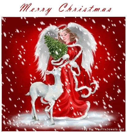 merry christmas snow angel pictures   images