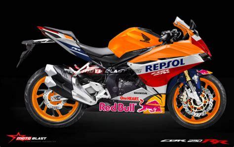 Modifikasi Cbr 250 Repsol by Honda New Cbr250rr Versi Repsol