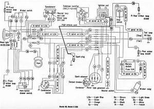 Honda C200 Wiring Schematic - 4-stroke Net