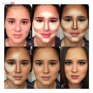 highlights contour make up before and after - Google ...