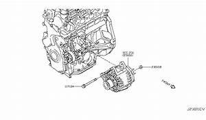 2018 Nissan Rogue Sport Alternator Fitting