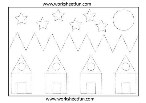 picture tracing 1 worksheet free printable worksheets