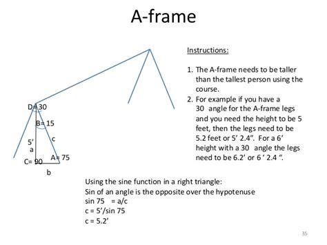 Frame Angle Swing Set