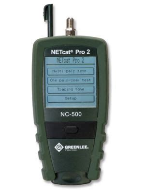 Greenlee Modular Cable Tester Wire Map