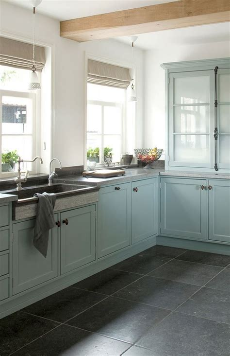 bluestone kitchen floor aqua blue kitchen with bluestone floors the cremone 1745