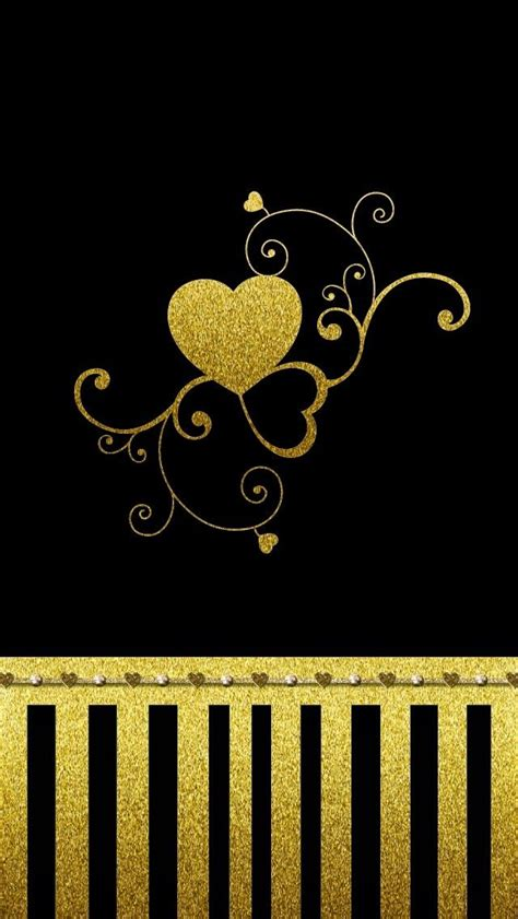 Gold Lock Screen Wallpaper For Phone by Dazzle My Droid Black And Gold Wallpaper Collection
