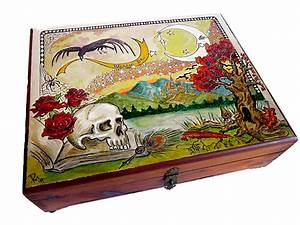 Tarot or Altar Box, Wiccan / Pagan - Unique Gifts